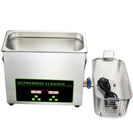 150W Benchtop Ultrasonic Dental Instrument Cleaner 6.5L Digital Ultrasonic Cleaner Kecil